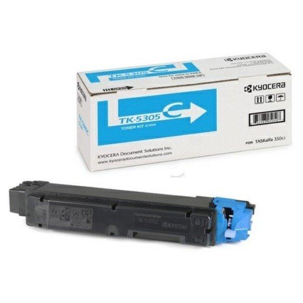 Kyocera Mita TK-5305 (1T02VMCNL0) Mavi Orjinal Toner Taskalfa 350ci