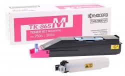 Kyocera - Kyocera Mita TK-865 Orjinal Kırmızı Toner
