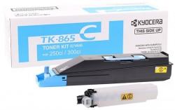 Kyocera - Kyocera Mita TK-865 Orjinal Mavi Toner