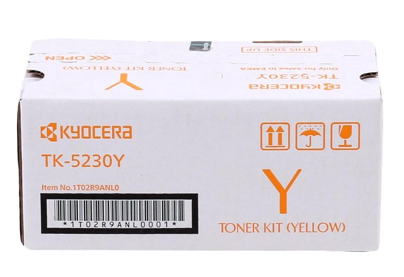Kyocera TK-5230 Sarı Ecosys M5021 / M5521 Orjinal Toneri