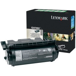 Lexmark - LEXMARK T630 (12A7462) ORJİNAL SİYAH TONER YÜK. KAP.