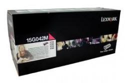 Lexmark - LEXMARK C752-C760-X752e (15G042M) ORJİNAL KIRMIZI TONER