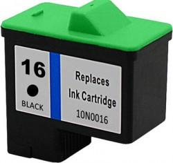 Lexmark - Lexmark 16-10N0016 Siyah Muadil Kartuş