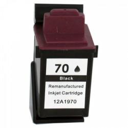 Lexmark - Lexmark 70-12AX970E Siyah Muadil Kartuş