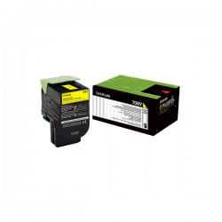 Lexmark - LEXMARK CS310-CS410-CS510 (70C80Y0) ORJİNAL SARI TONER 1000 SAYFA