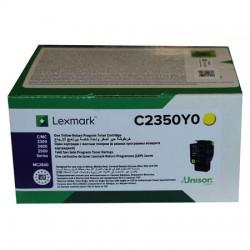 Lexmark - Lexmark C2425 Sarı Orjinal Toner C2350Y0