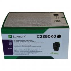 Lexmark - Lexmark C2425 Siyah Orjinal Toner C2350K0