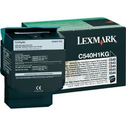Lexmark - LEXMARK C540-C544-X544-X546 (C540H1KG) ORJİNAL SİYAH YÜKSEK KAPASİTELİ TONER