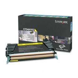 Lexmark - LEXMARK C734-X734-C736-X736-X738 (C734A1YG) ORJİNAL SARI TONER