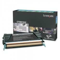Lexmark - LEXMARK C73X-X73X (C736H1KG) ORJİNAL SİYAH TONER