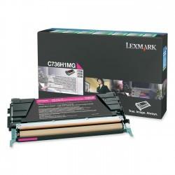 Lexmark - LEXMARK C73X-X73X (C736H1MG) ORJİNAL KIRMIZI TONER