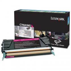 Lexmark - Lexmark C746 Kırmızı Orjinal Toner C746A1MG