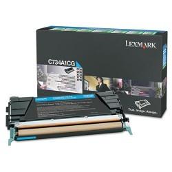 Lexmark - LEXMARK C748 (C748H1CG) ORJINAL MAVİ TONER YÜK. KAP.