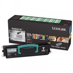 Lexmark - LEXMARK E460DN (E450A11E) ORJINAL SİYAH TONER 6K