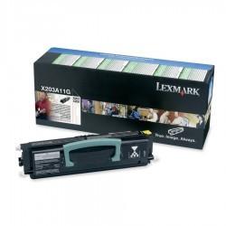Lexmark - LEXMARK X203 (X203A11G) ORJİNAL SİYAH TONER 2500 SAYFA