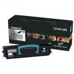 Lexmark - Lexmark X340A31E Siyah Orjinal Toner