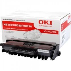 OKI - OKI MB260 (01239901) ORJİNAL SİYAH TONER