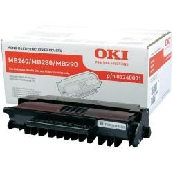 OKI - OKI MB260 (01240001) ORJİNAL SİYAH TONER YÜK. KAP.