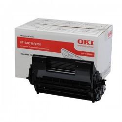 OKI - OKI B710 (01279001) ORJİNAL SİYAH TONER