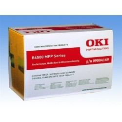 OKI - OKI B4520 (09004169) ORJİNAL SİYAH TONER YÜK. KAP.
