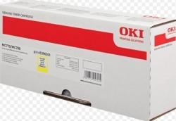 OKI - OKI MC770 / MC780 (45396201) ORJİNAL SARI TONER