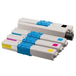 OKI - OKI C332 Muadil Toner Seti Tüm Renkler