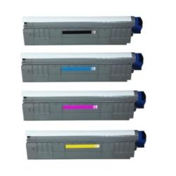 OKI - OKI WT C801/C821 Mavi Muadil Toner