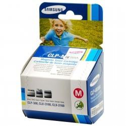 Samsung - SAMSUNG CLP-M300A ORJINAL KIRMIZI TONER