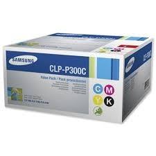 Samsung - SAMSUNG CLP-P300C ORJINAL CMYK TONER AVANTAJ PAKET
